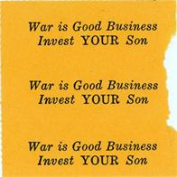 Night Raiders--War Is Good Business--Invest Your Son