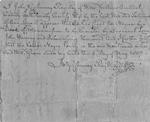"""Thumbnail for Begins """"I John Gassaway register of wills..."""""""