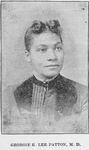 Georgia E. Lee Patton, M.D. Physician, and Surgeon, a Meharry [Meharry Medical College] Graduate, African Missionary