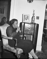 Brooks, Mrs Lilly; Mother of Joe Louis. with Eloise Black