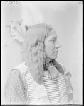 Dakota man, Pick's His Arrow. U. S. Indian School, St Louis, Missouri 1904