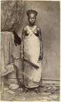 Negerin von Gabon Negro woman from Gaboon