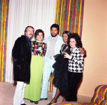Gwen Gordy Fuqua and other posing together at a party, Los Angeles