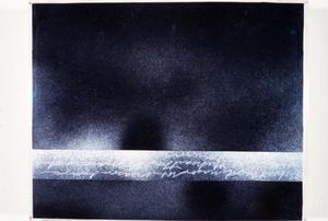Black artwork by Claudia Betti Slides, circa 1955-1982