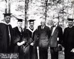Langston Hughes, Rev. Brooks, Carl Sandburg, and Judge Herbert Millen