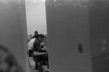 James Meredith in a classroom at the University of Mississippi in Oxford.