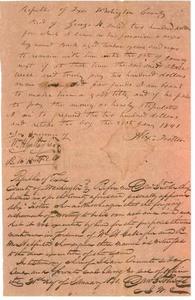 Washington County legal documents