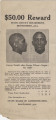 """Wanted poster for George Tindell (""""alias George Wilson""""), an African American prisoner from Jefferson County, Alabama."""