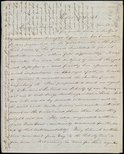 Letter from Sarah Pugh, Philad[elphi]a, [Penn.], to Maria Weston Chapman, 1/29 [18]48
