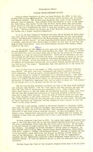 Biographical sketch of W. E. B. Du Bois
