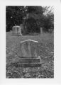 Alexandria Cemeteries Historic District: Eaton tombstone