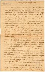 [Letter] 1806 July 29, Creek Agency [to] John Milledge, Governor of Georgia, Louisville, [Georgia] / Colo[nel] Benjamin Hawkins