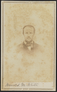 Carte-de-visite portrait of Harold M. White