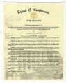 Tennessee Senate Resolution