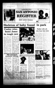 San Antonio Register (San Antonio, Tex.), Vol. 57, No. 1, Ed. 1 Thursday, April 14, 1988