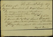 Receipt signed Margaret Brown, St. Louis, February 20, 1839
