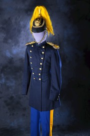 Dress Uniform Helmet of Lt. William Harvey Smith, Tenth U.S. Cavalry