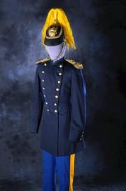 Dress Uniform Helmet of Lt. William Harvey Smith, Tenth U.S. Cavalry