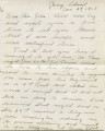 Letter from Timothy Donahue to his brother John, 27 January 1918