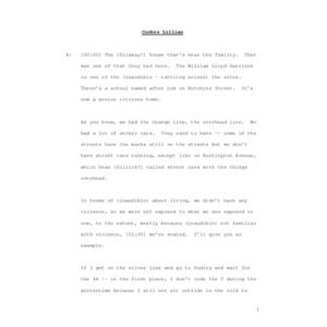 An Interview with Lillian Corbin, July 24, 2008 [transcript]