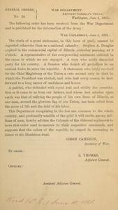 General orders. No. 29