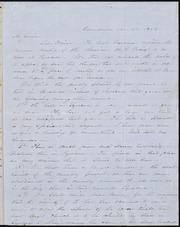 Letter to] Mr. Garrison, Dear Friend [manuscript