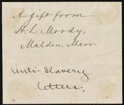 Letter to] My dear Purvis [manuscript