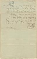 Letter from L.A. Spalding to Lewis Tappan