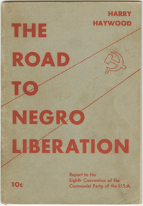 The Road to Negro Liberation