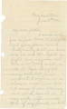 Letter from John E. Hall at Fairfax Station in Virginia, to his father, Bolling, in Alabama.