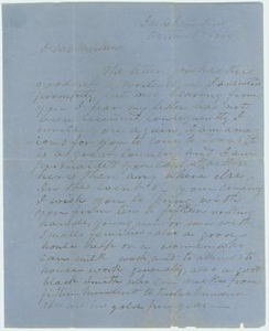 Letter to nephew from Robert Emmett Bledsoe Baylor, October 2, 1866