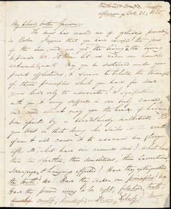 Letter from George Thompson, Marblehead Beach, [Massachusetts], to William Lloyd Garrison, 1835 Oct[ober] 22