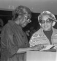 Gwendolyn Brooks was an American poet, author, and teacher, the first African American to win the Pulitzer prize. Brooks visited IWU five times between 1972 and 1999.