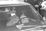 Thumbnail for Lucius Amerson sitting in his car after being sworn in as sheriff at the Macon County courthouse.
