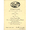 Invitation from the 1990 Inaugural Committee, Commonwealth of Virginia, to Carroll Leggett