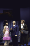 """Actors (L-R) Anne Bobby, Keene Curtis and Nancy Marchand in a scene from the Roundabout Theater Co.'s production of the play """"Black Comedy """" (New York)"""