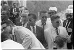[James Baldwin and others at the March on Washington for Jobs and Freedom]