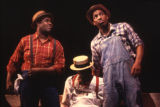 Actors in a scene from the play Spunk