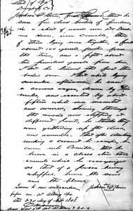 Affidavit of Jackson O'Brien: Dougherty County, Georgia, 1868 Sept. 23