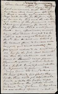 Letter from Maria Weston Chapman to Caroline Weston, [1846?]