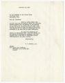 Correspondence regarding segregation and social security