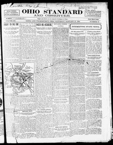 Ohio Standard and Observer. (Xenia and Wilberforce, Ohio), Vol. 3, No. 19, Ed. 1 Saturday, January 27, 1900 Ohio Standard and Observer The Ohio Standard The Observer