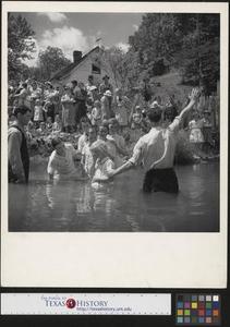Baptizing in Olde Towne Creek