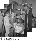 Nixon with African-Americans--Fillmore and Sutter Streets