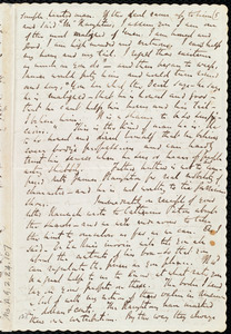 Letter from Richard Davis Webb to Anne Warren Weston, [4 Nov. 1849]