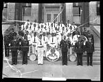 [American Legion band] [cellulose acetate photonegative]