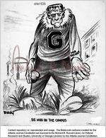 Baldowski Cartoon: UGA desegregation