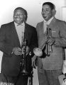 "John Birks ""Dizzy"" Gillespie and Cat Anderson"