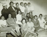 Group photograph at an Owl Club event
