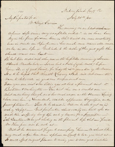 Letter from Mahlon B. Linton, [Pa.], to William Lloyd Garrison, July 25th / [18]64